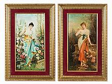 Hans Zatzka (1859-1945), Spring Awakening, c. 1900