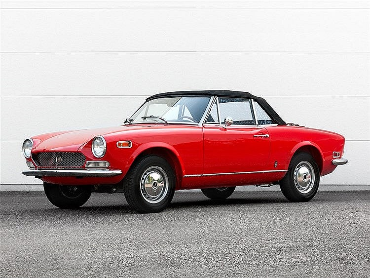 FIAT 124 Spider Pininfarina, Model Year 1970