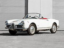 Alfa Romeo Giulietta Spider, Model Year 1959