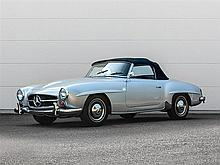 Mercedes-Benz 190 SL Cabrio, Model Year 1962