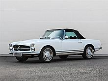 Mercedes-Benz 230 SL Cabrio, Model Year 1964