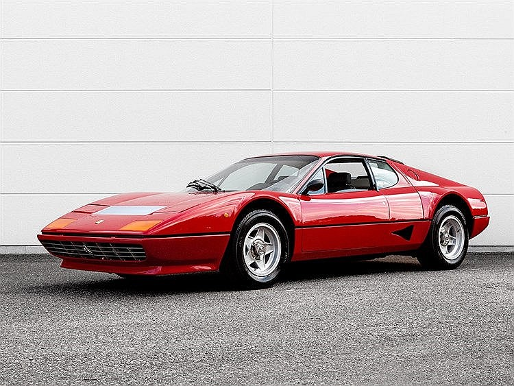 Ferrari 512 BB Pininfarina Coupé, Model Year 1979