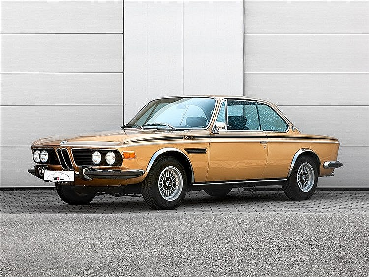"""1973 BMW 3.0 CSL Aluminium-Racer """"Ceylon""""-met."""