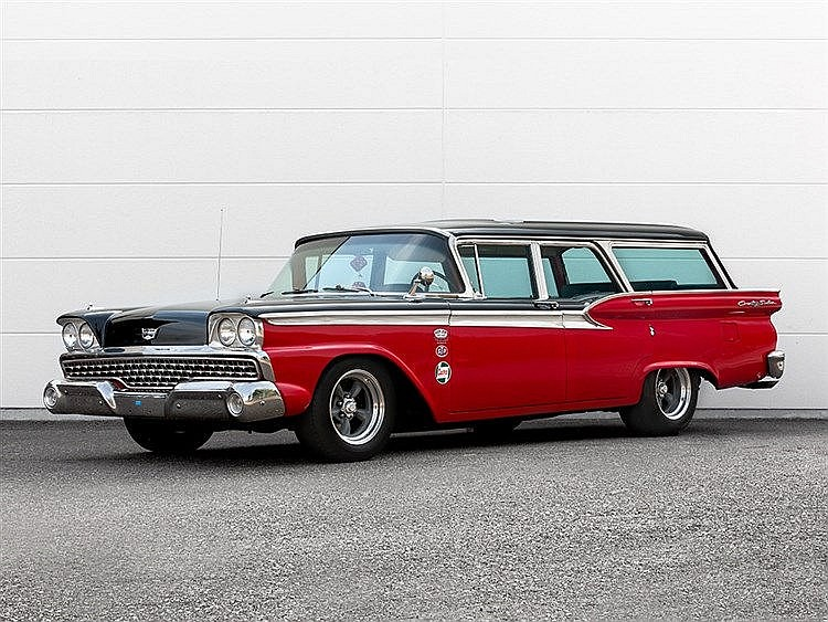 Ford Station Wagon / Country Sedan, Model Year 1959