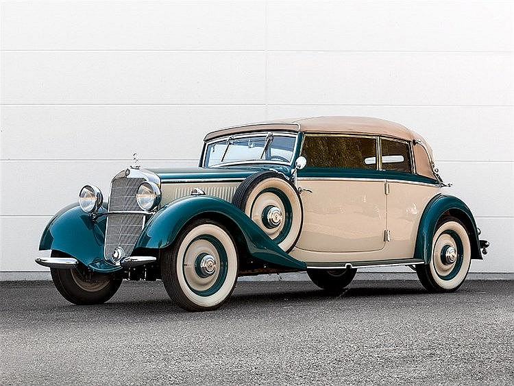 Mercedes-Benz 230 Cabrio B, Model Year 1936