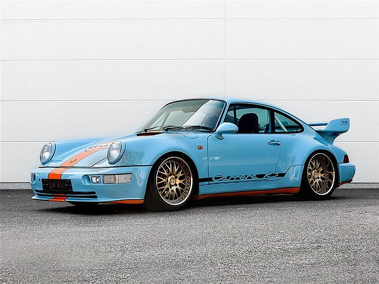 Porsche Carrera 3,6RS, converted to 3,8RSR 1992