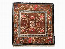 Carpet of a Tibetan Lama with Central Medallion, 19th Century