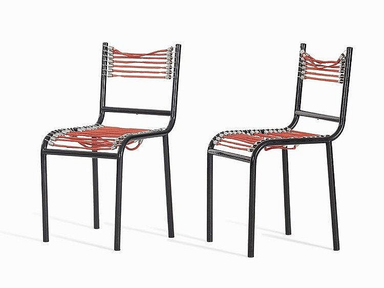 René Herbst, Pair of Sandow Chairs, France, 1928/29