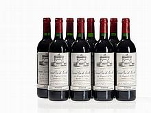 8 bottles 1993 Château Léoville-Las Cases, Saint-Julien