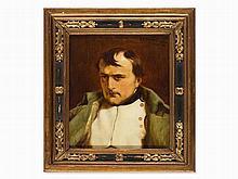 Antonin Brunner, Painting, Portrait of Napoleon, Paris, c. 1920