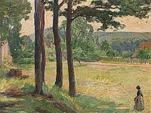 Walter Ernst Zeising (1876-1933), 'Bei den vier Kiefern', 1912
