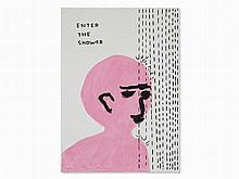 David Shrigley (b. 1968), Untitled, Acrylic and Gouache, 2010