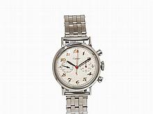 Movado Chronograph, Signed Cartier, Switzerland, c. 1955