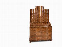 Tabernacle Secretary with Marquetry, South Germany, 18th C