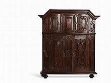Large Cabinet, Oak, Germany, 1751