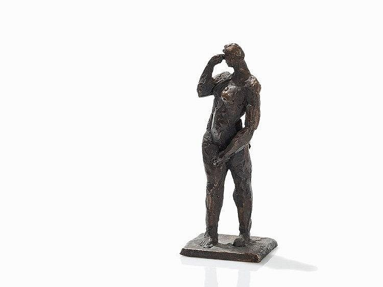 Berndt Wilde (born 1946), Bewegung, Bronze Figure, 2004