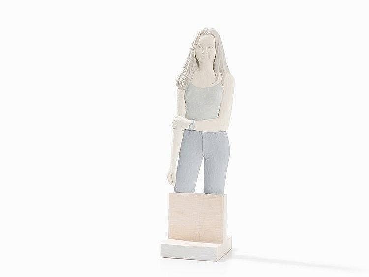 Albert Ricken, 'Maria', Relief Sculpture, Germany, 2006