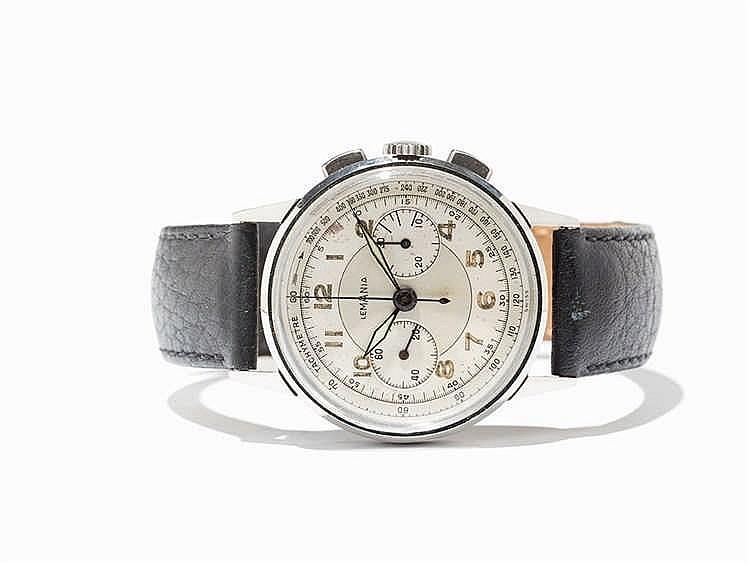 Lemania Chronograph, Switzerland, Around 1950