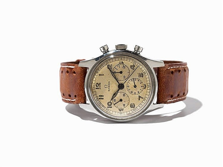 Omega Chronograph, Ref. 2451, Switzerland, Around 1950