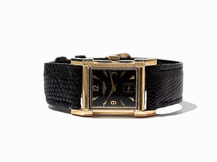 Longines Wristwatch, Switzerland, Around 1950