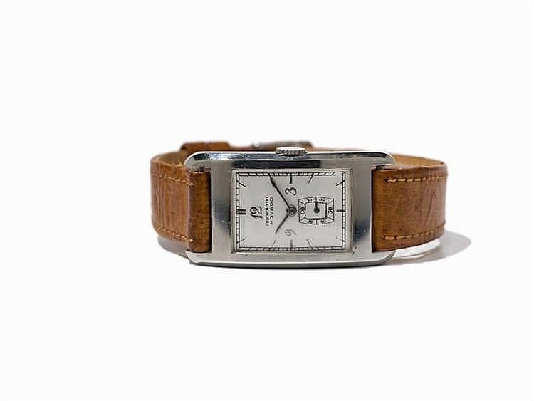 Movado Wristwatch, Ref. 11819, Switzerland, Around 1950