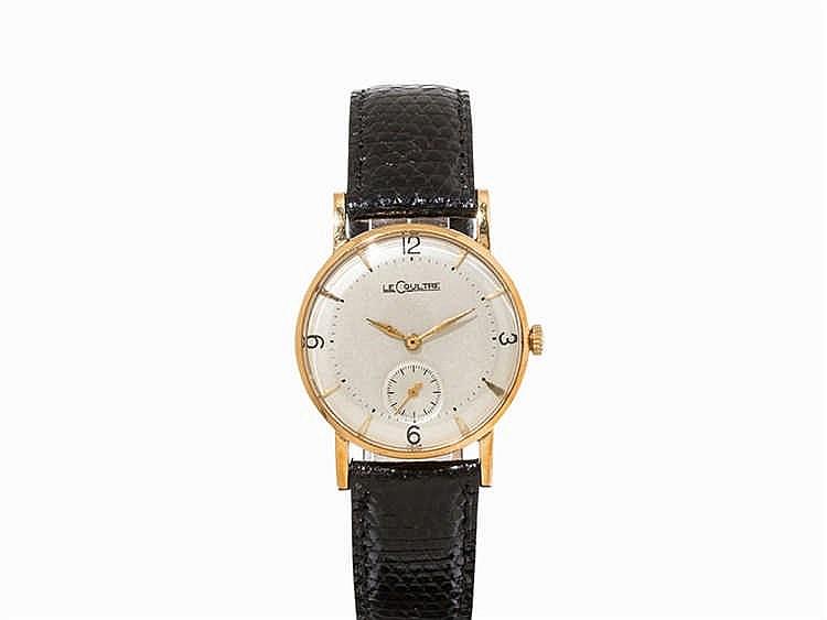 LeCoultre Vintage Wristwatch, Switzerland, c. 1950