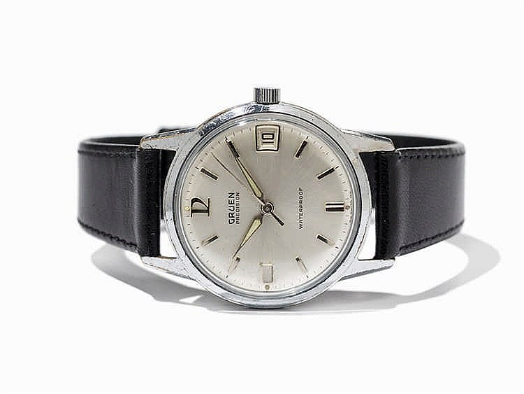 Gruen Precision Wristwatch, Switzerland/USA, c. 1955