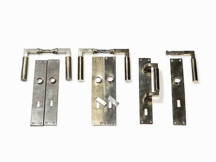 Gropius Meyer 2 Pairs Of Door Handles Amp Rare Door Pull 192