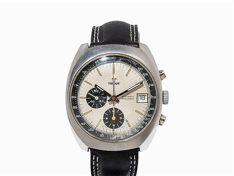 Tissot Navigator Chronograph, Switzerland, C. 1975