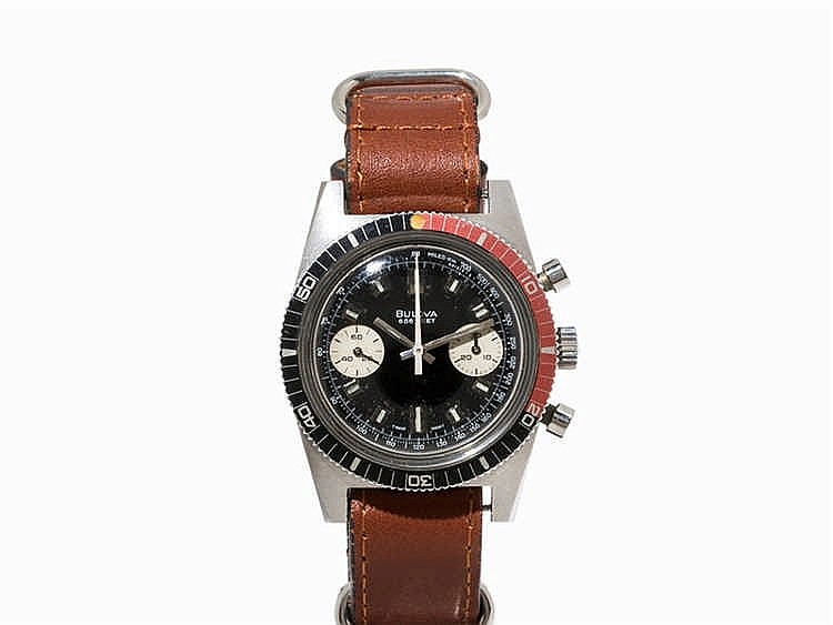 Bulova 666 Feet Chronograph, Switzerland, c. 1973