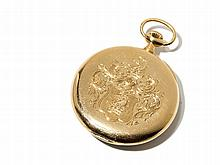 Longines Gold Pocket Watch, Switzerland, Around 1900