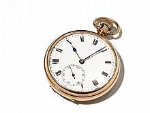 Gold Pocket Watch, England, Around 1950