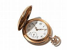 IWC Golden Ladies´ Pocket Watch, Switzerland, Around 1900