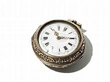 Gold Plated Pocket Watch, Amsterdam, Around 1750
