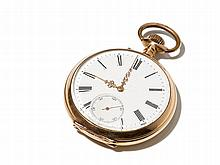 Pocket Watch Of Pink Gold, Around 1908