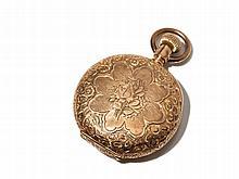 Elgin Pink Gold Pocket Watch, USA, Around 1900