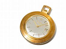 Bulova Accution Golden Pocket Watch, USA, Around 1900