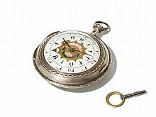 Julien Le Roy Silver Pocket Watch, France, Around 1750