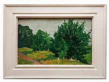 Carl Jörres, Painting, Summer in Lilienthal, Germany, c. 1936