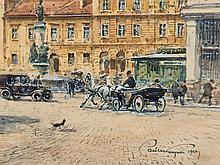 Paul Kaspar (1891-1953), 'Freyung in Vienna', Austria, 1925