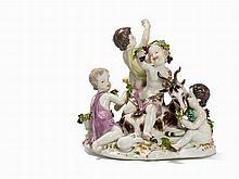 Meissen, Porcelaine Group 'Der Herbst', 19th Century