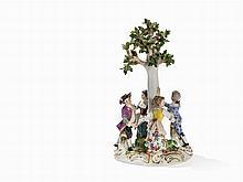 Meissen, Figural Group 'Children's Roundel', 2nd Half 19th C.