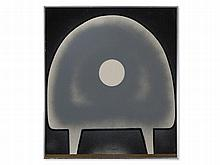 Orhan Peker (1927-1978), 'Abstract Form in Grey', 1973