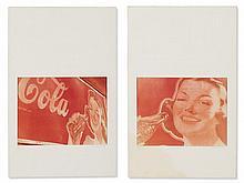 Wilhelm Moser, Two Colour Photographs 'Coca Cola', c. 1980s