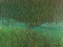 Jian Chongmin (b. 1947), Oil Painting 'Rice Field', China, 1981
