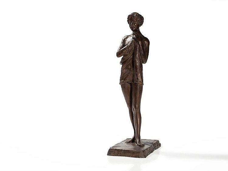 Rolf Brem (b. 1926), Bronze Sculpture, 'Susanne', 1986/87