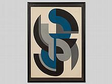Friedrich Kracht (1925-2007), 'Colour Composition', 1984
