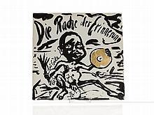 Jörg Immendorf, Signed LP 'Die Rache der Erinnerung', 1984