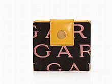 Bulgari, Bi-Fold Logomania Nylon Wallet, Italy, 2000s