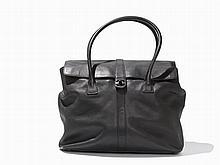 Chanel, Black Shoulder Flap Bag, Italy, 1997-99